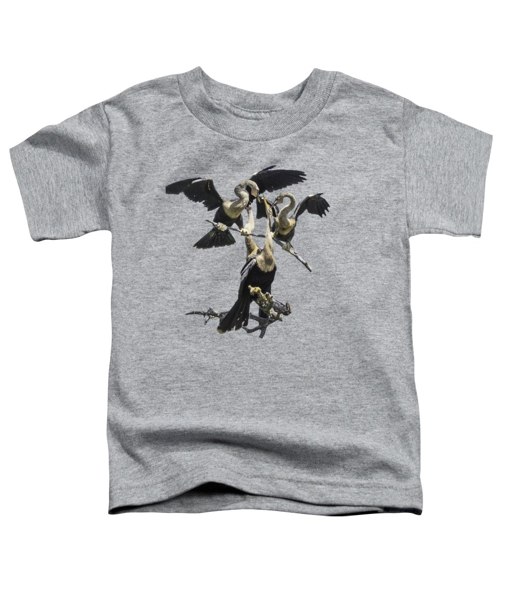 Anhinga Toddler T-Shirts