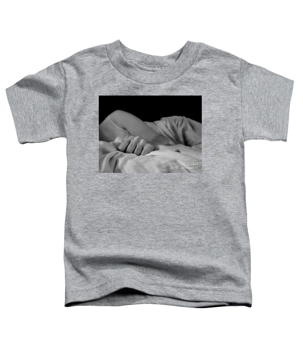 Dipasquale Toddler T-Shirt featuring the photograph Cast Me Gently Into Morning For The Night Has Been Unkind by Dana DiPasquale