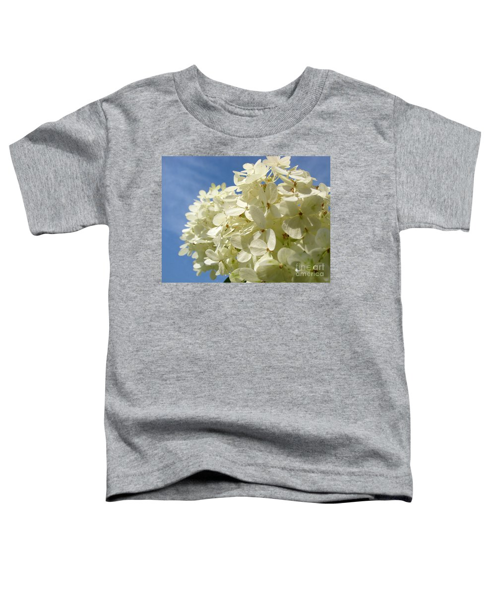 Hydranga Toddler T-Shirt featuring the photograph Hydrangea by Amanda Barcon