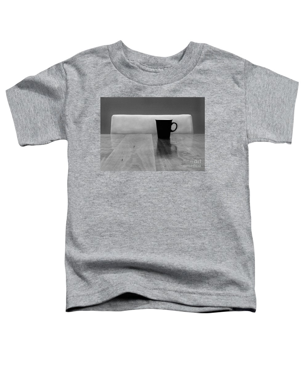 Black Toddler T-Shirt featuring the photograph Missing by Dana DiPasquale