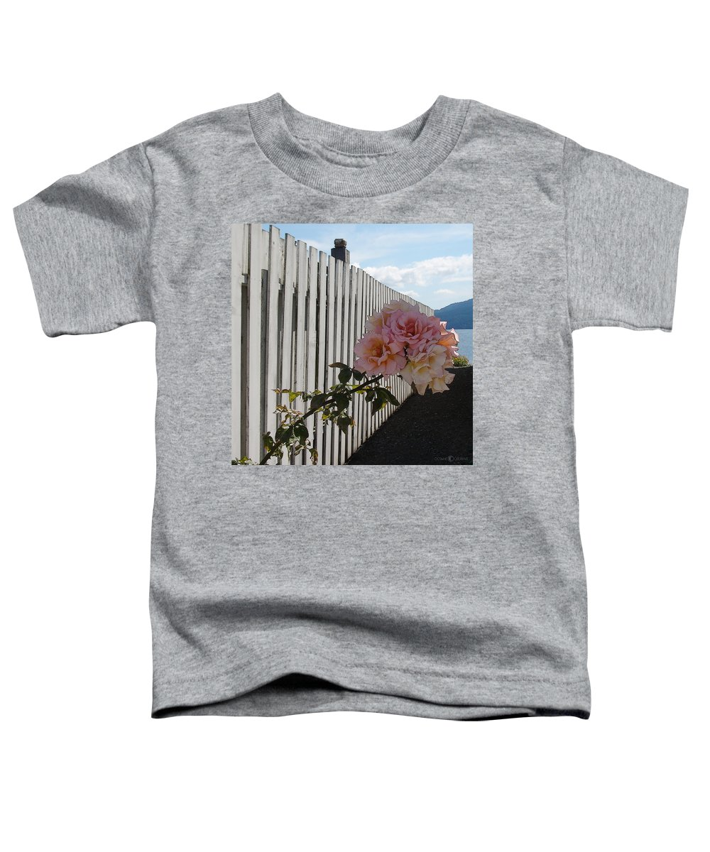 Rose Toddler T-Shirt featuring the photograph Orcas Island Rose by Tim Nyberg