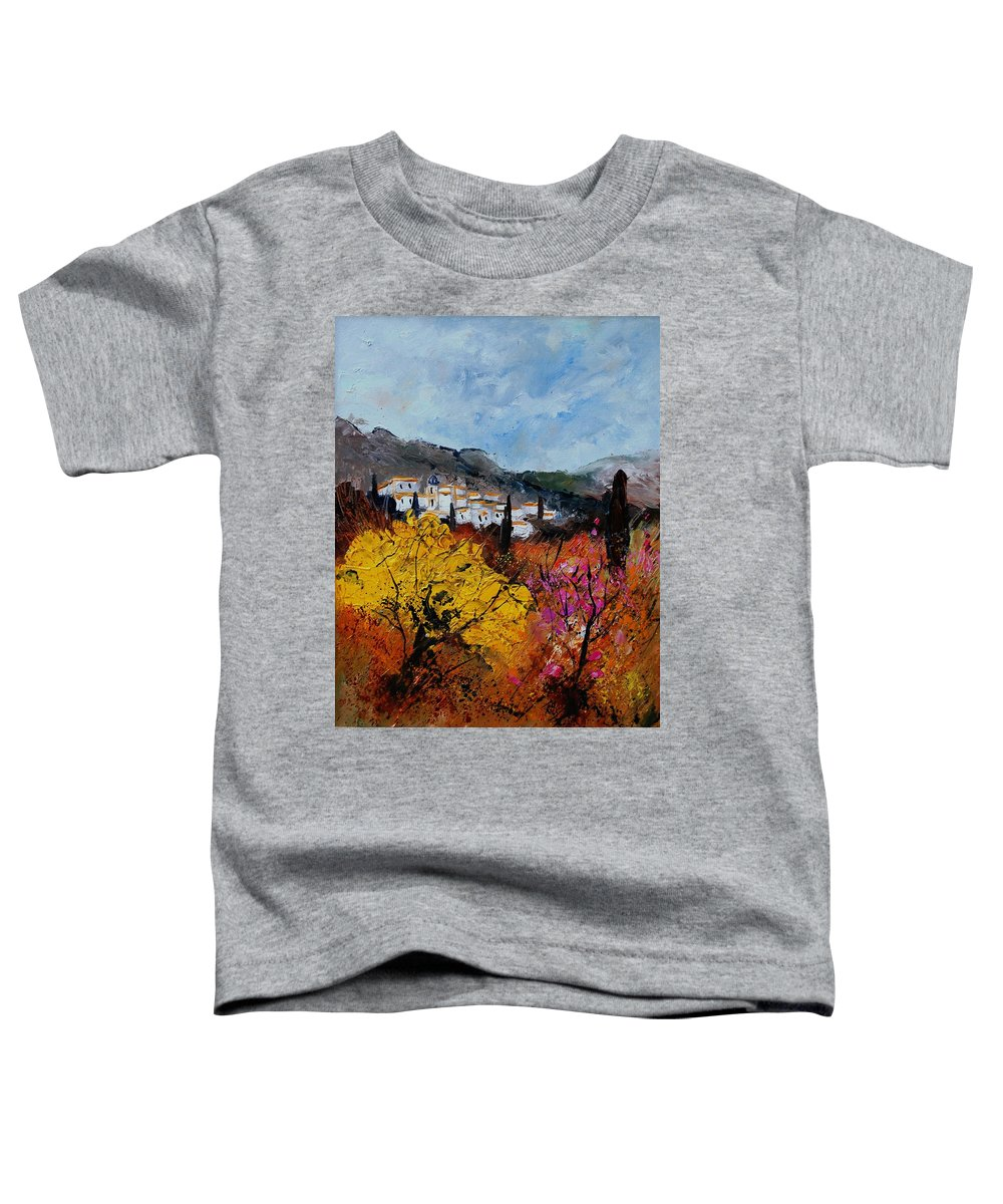 Provence Toddler T-Shirt featuring the painting Provence by Pol Ledent