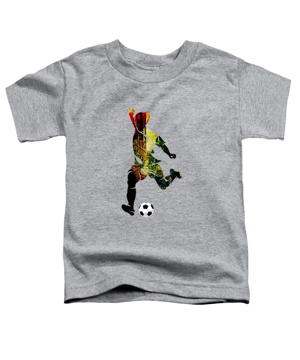 Soccer Toddler T-Shirts