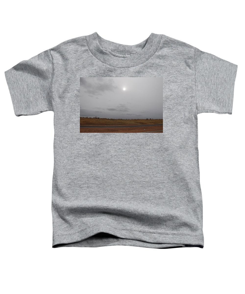 Desert Toddler T-Shirt featuring the photograph Sunset In The Desert by Rob Hans