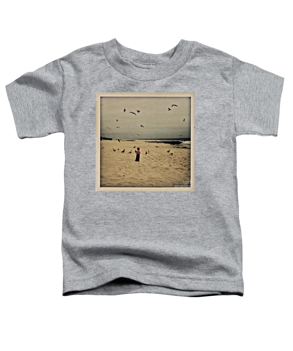 Ocean Toddler T-Shirt featuring the photograph When Promises Were For Keeps by Dana DiPasquale