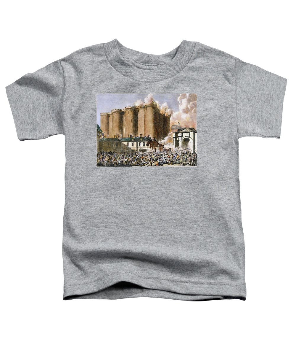 1789 Toddler T-Shirt featuring the photograph French Revolution, 1789 by Granger