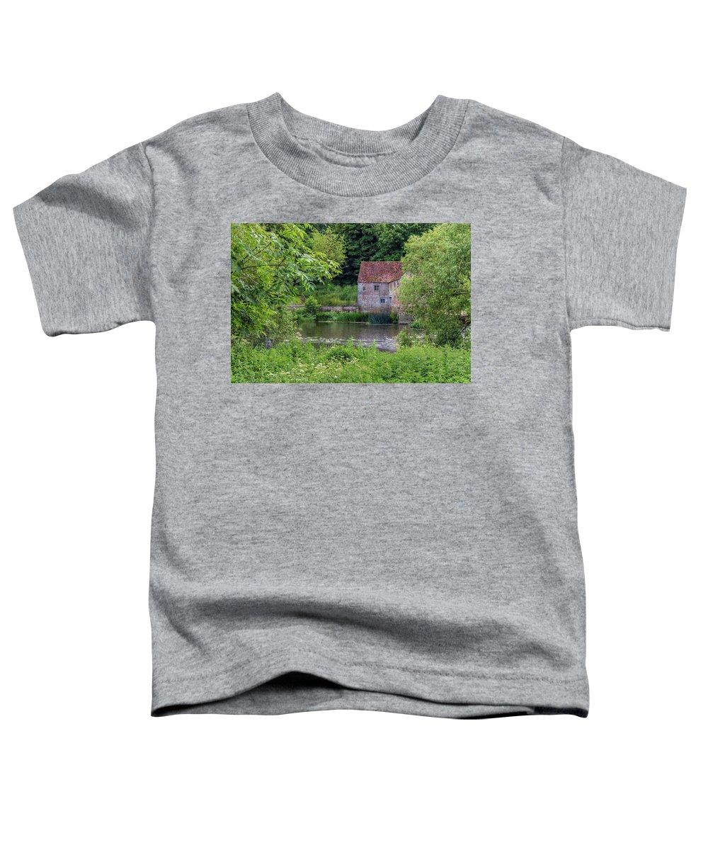 Sturminster Newton Mill Toddler T-Shirt featuring the photograph Sturminster Newton Mill - England by Joana Kruse