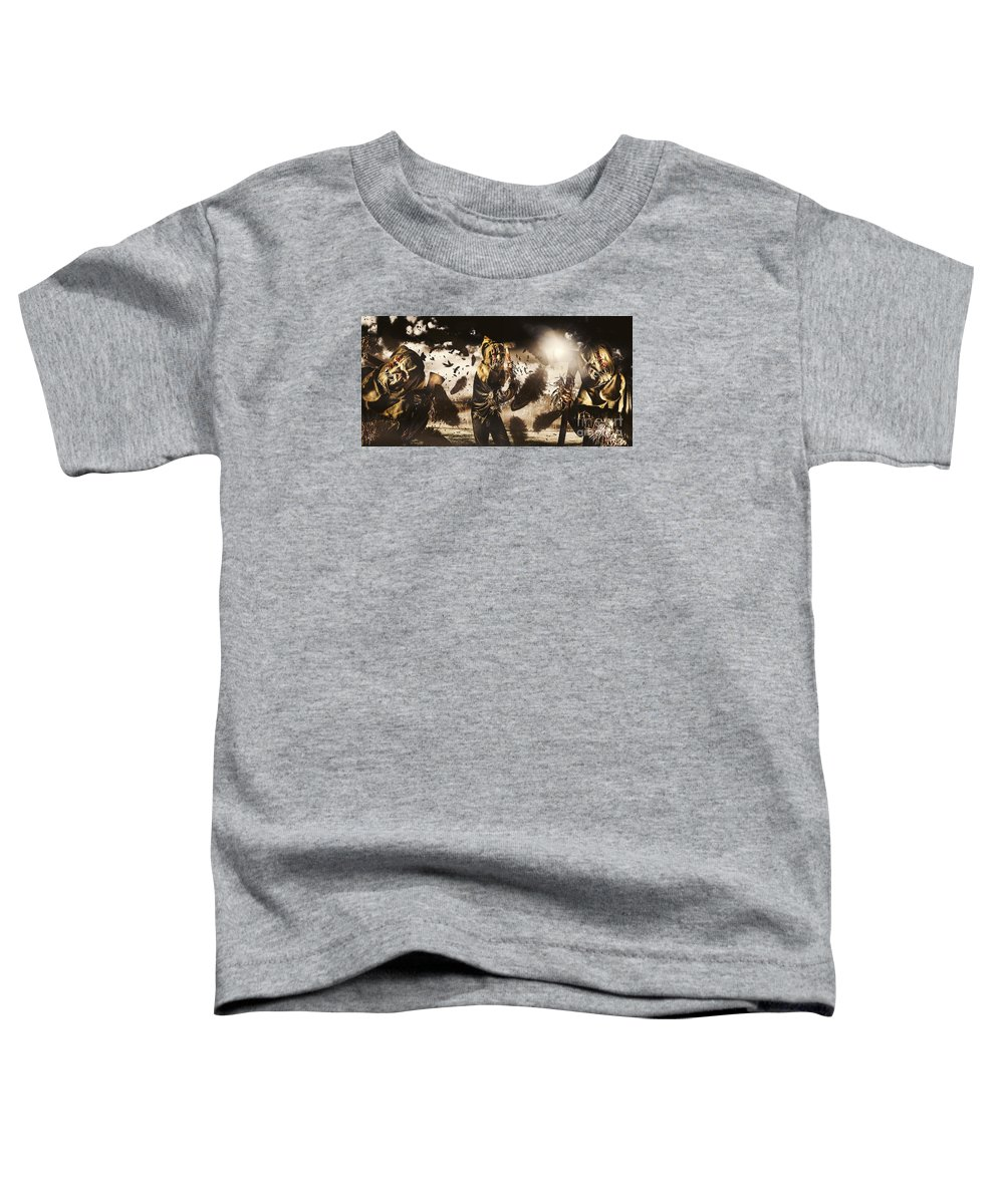 Crows Toddler T-Shirt featuring the photograph A Crow Left Of The Murder by Jorgo Photography - Wall Art Gallery
