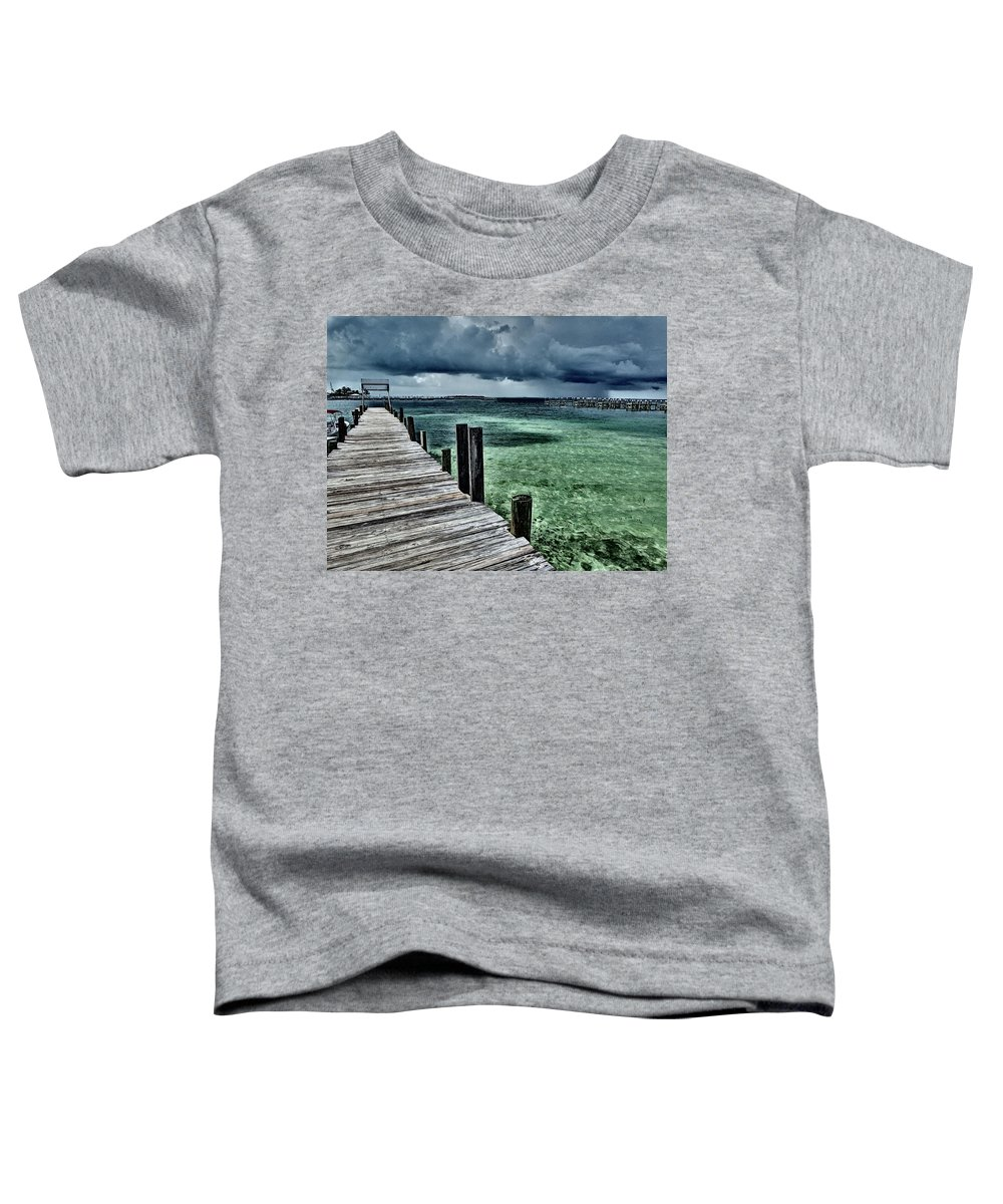Caribbean Toddler T-Shirt featuring the photograph Abaco Islands, Bahamas by Cindy Ross