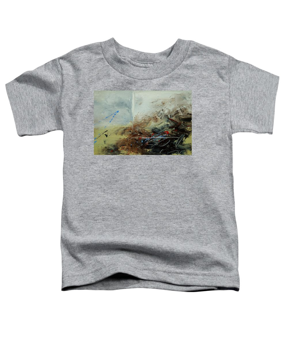 Abstract Toddler T-Shirt featuring the print Abstract 070408 by Pol Ledent
