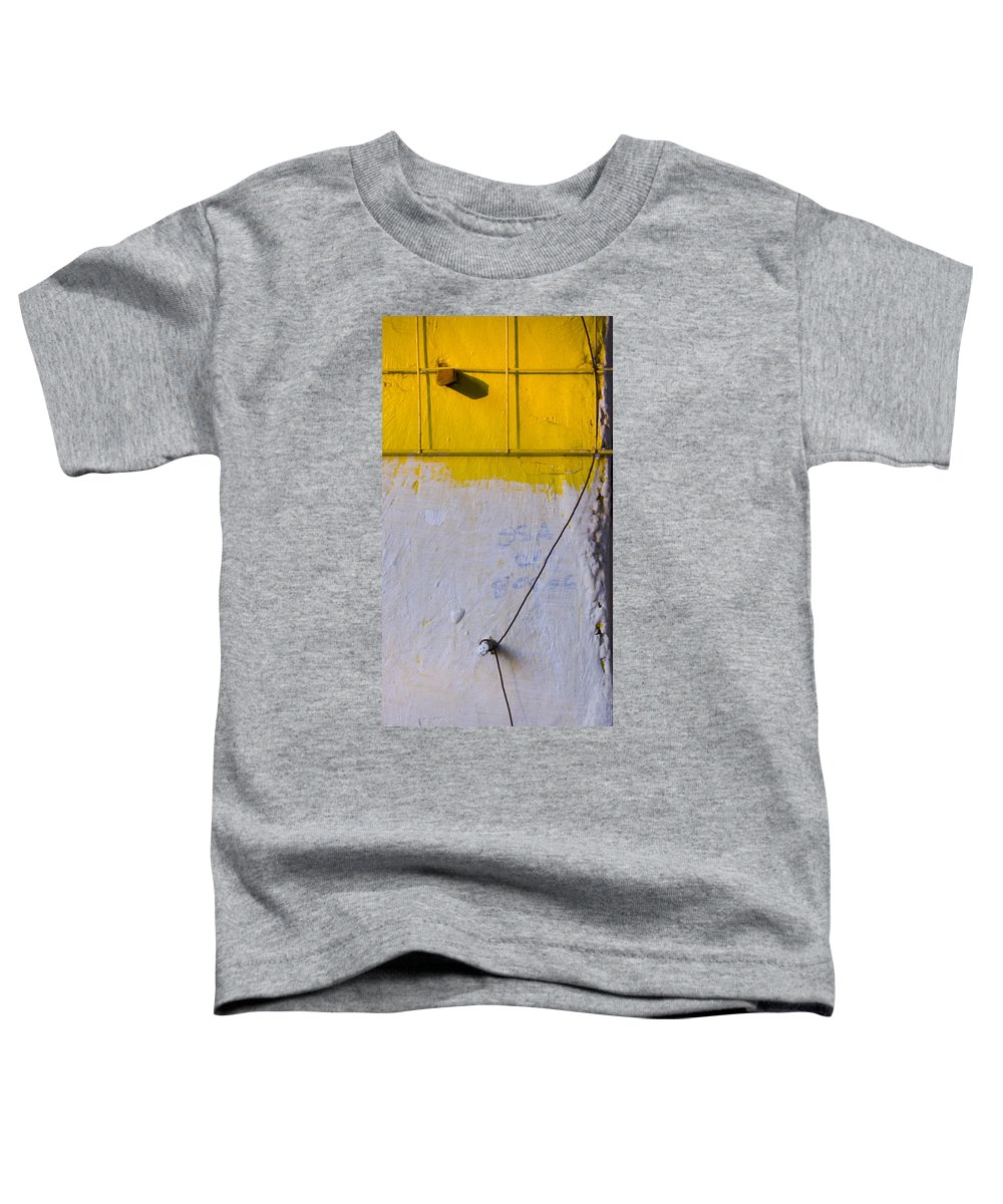 Abstract Toddler T-Shirt featuring the photograph Amarillo by Skip Hunt
