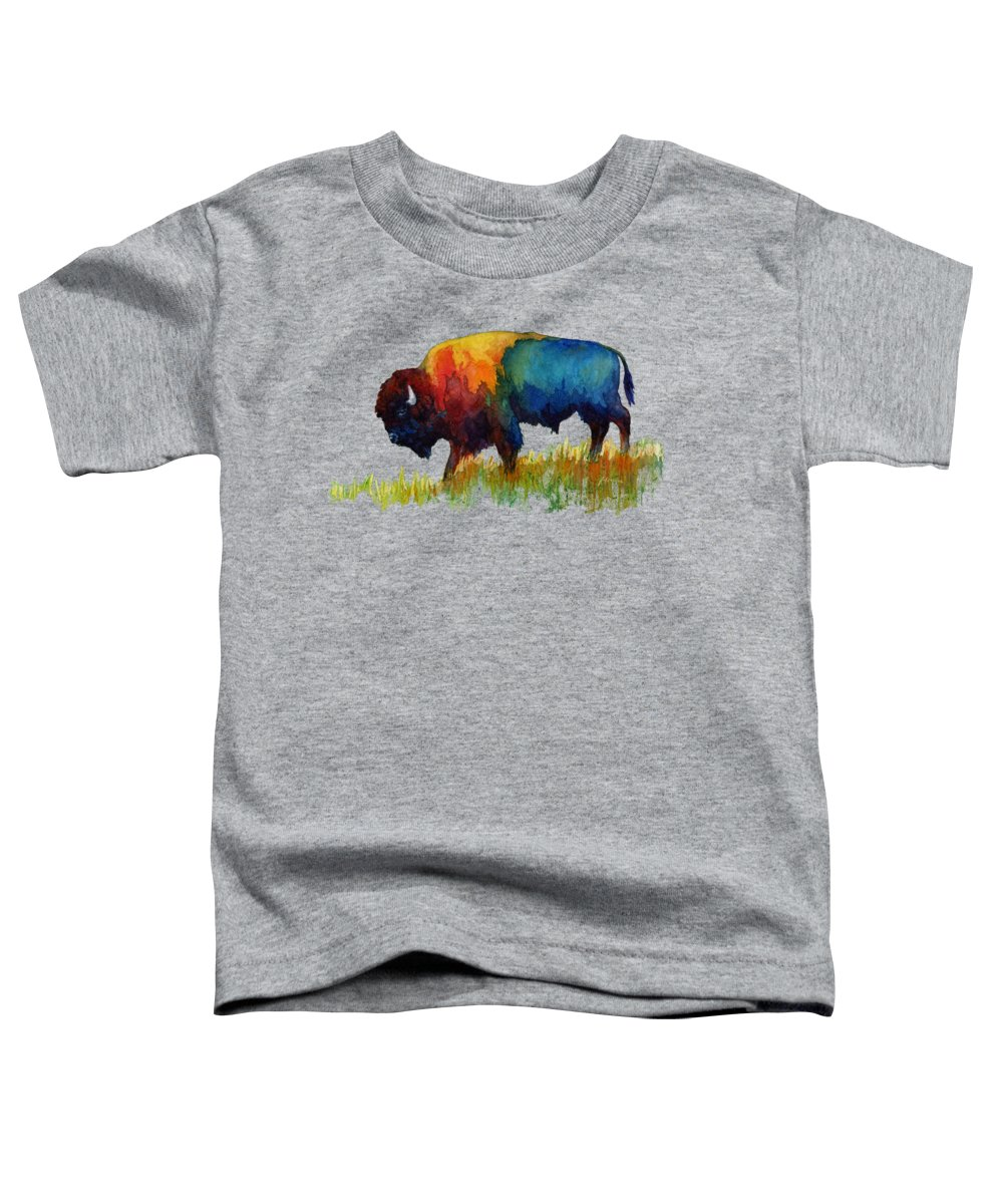 Bison Toddler T-Shirts