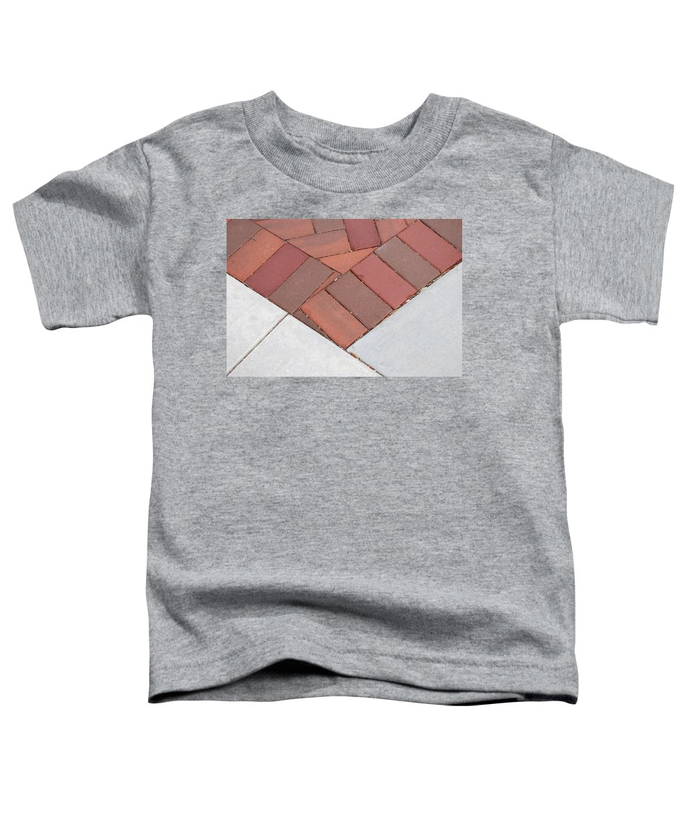 Bricks Toddler T-Shirt featuring the photograph Angles by Rob Hans