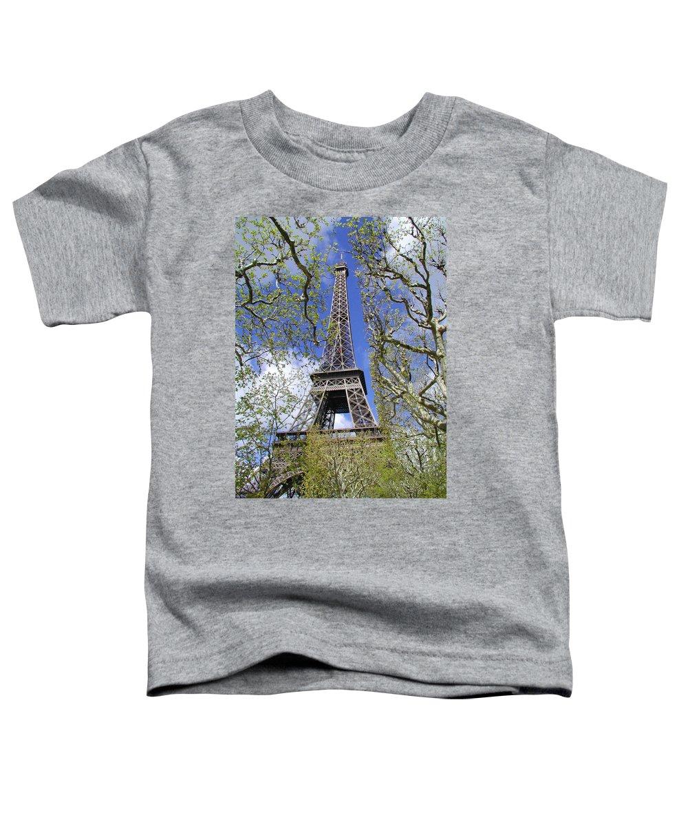 Paris Toddler T-Shirt featuring the photograph April In Paris by Tom Reynen