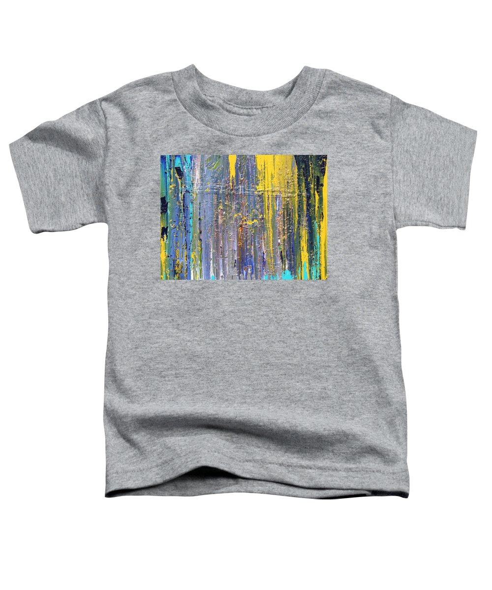 Fusionart Toddler T-Shirt featuring the painting Arachnid by Ralph White