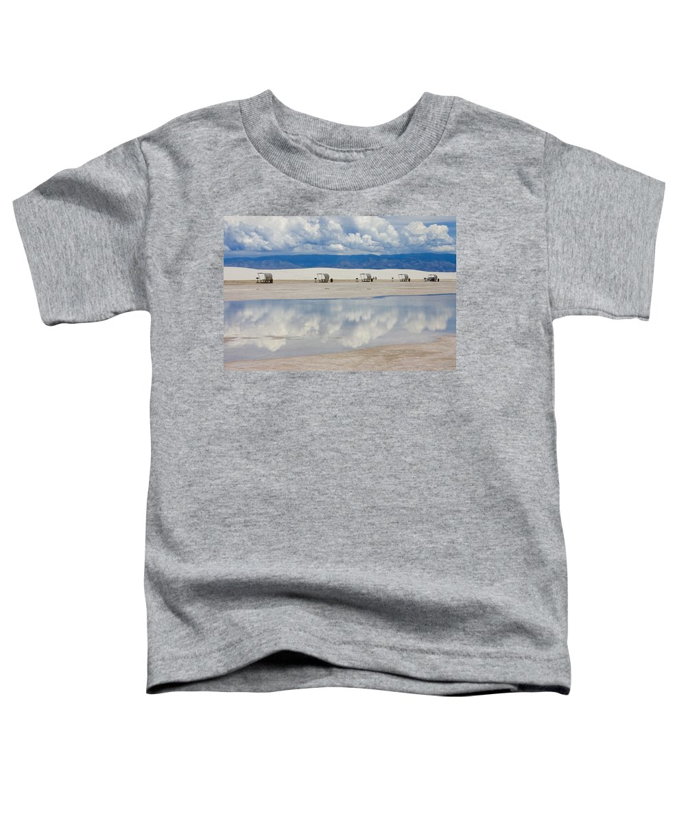 New Mexico Toddler T-Shirt featuring the photograph Armageddon Picnic by Skip Hunt