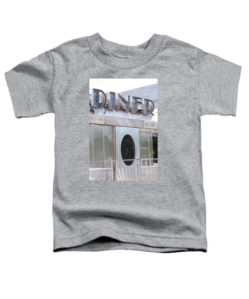 Architecture Toddler T-Shirt featuring the photograph Art Deco Diner by Rob Hans