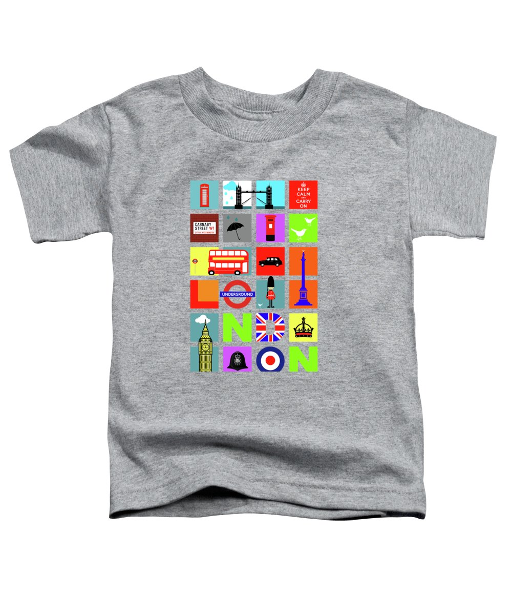 London Tube Toddler T-Shirts