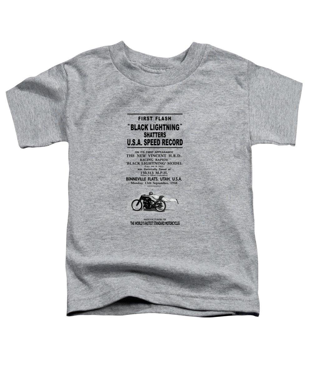 Speed Photographs Toddler T-Shirts