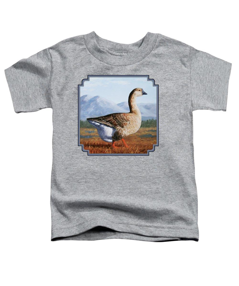 Goose Toddler T-Shirts