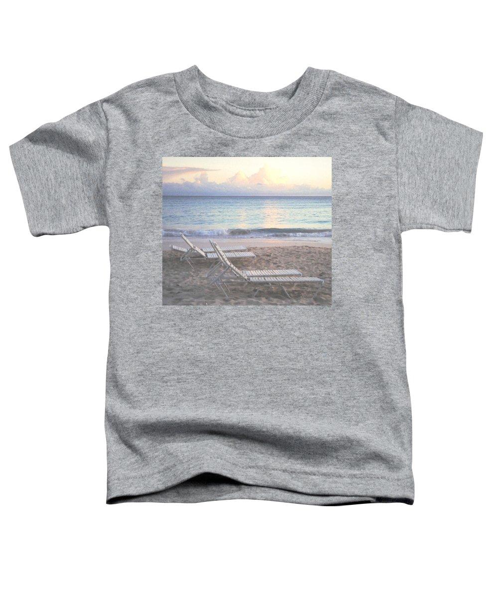 Aruba Toddler T-Shirt featuring the photograph Aruba Beach by Ian MacDonald