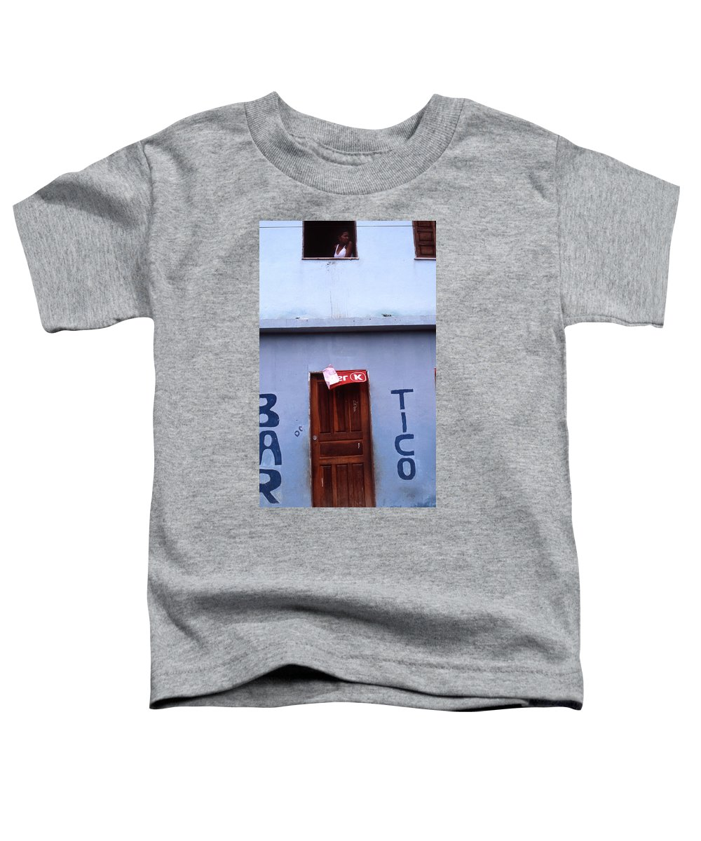 Lencois Toddler T-Shirt featuring the photograph Bar Tico by Patrick Klauss