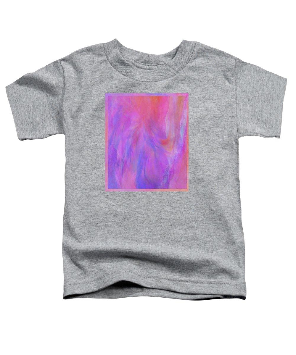 Digital Art Toddler T-Shirt featuring the digital art Blossom by Linda Murphy