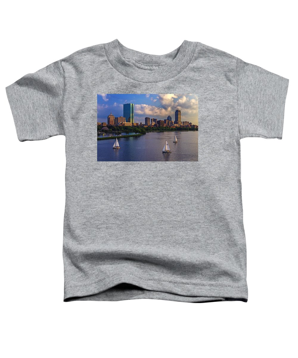 Hancock Building Toddler T-Shirts