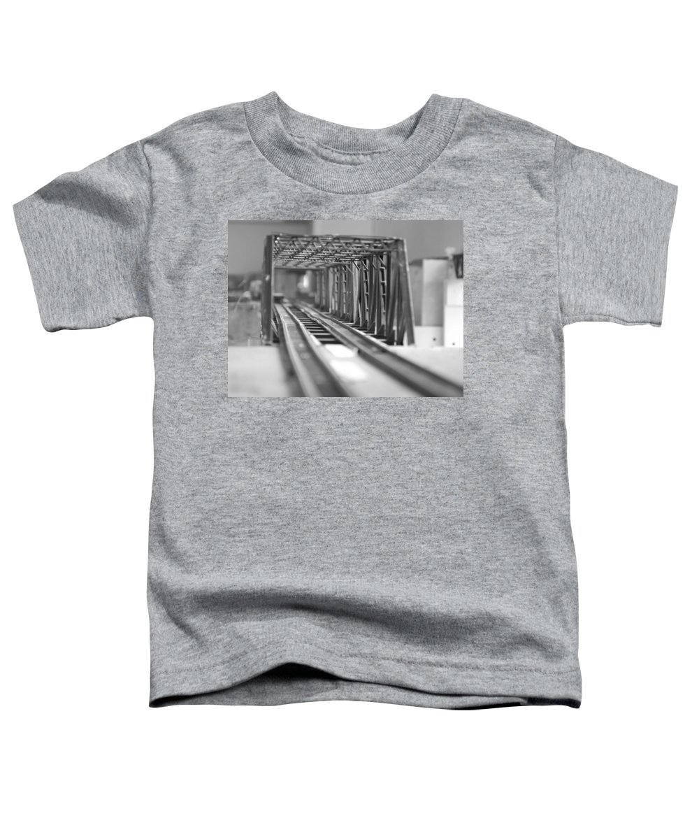 Models Toddler T-Shirt featuring the photograph Bridge To Jerry Town by Margaret Fortunato