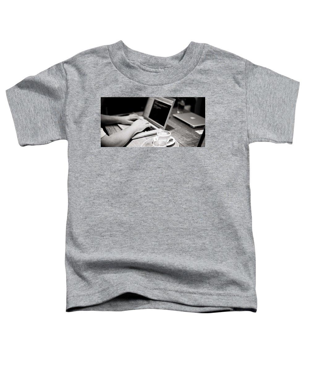 Bulk Sms Toddler T-Shirt featuring the digital art Bulk SMS Developer API by Natasha Williams
