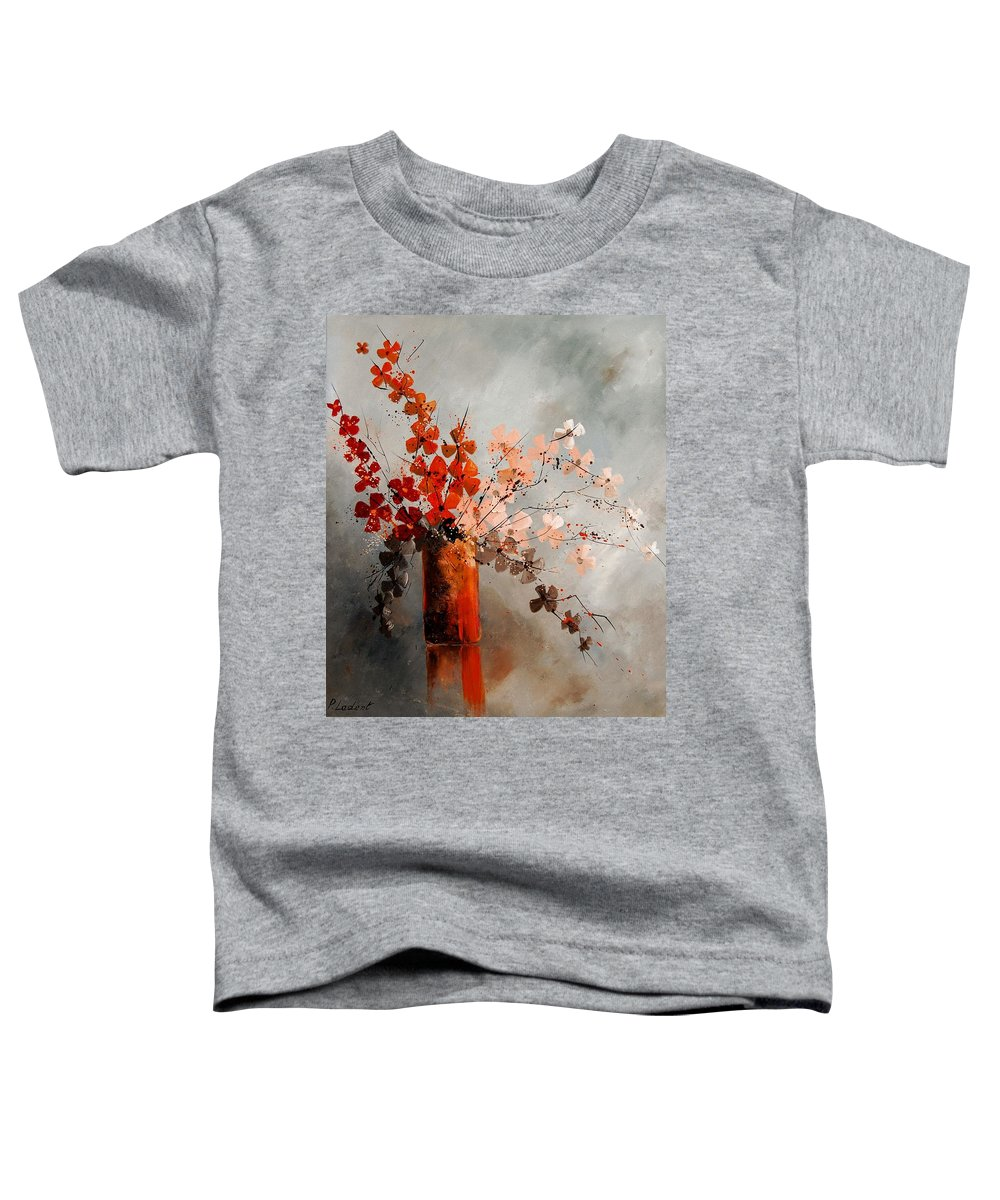 Flowers Toddler T-Shirt featuring the painting Bunch 670908 by Pol Ledent