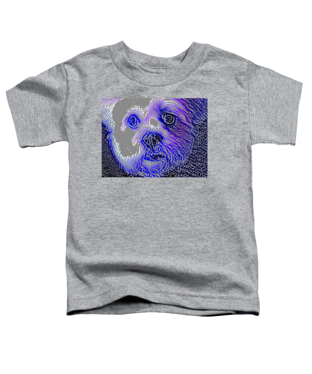 Dog Toddler T-Shirt featuring the photograph Buster Photo by Wayne Potrafka