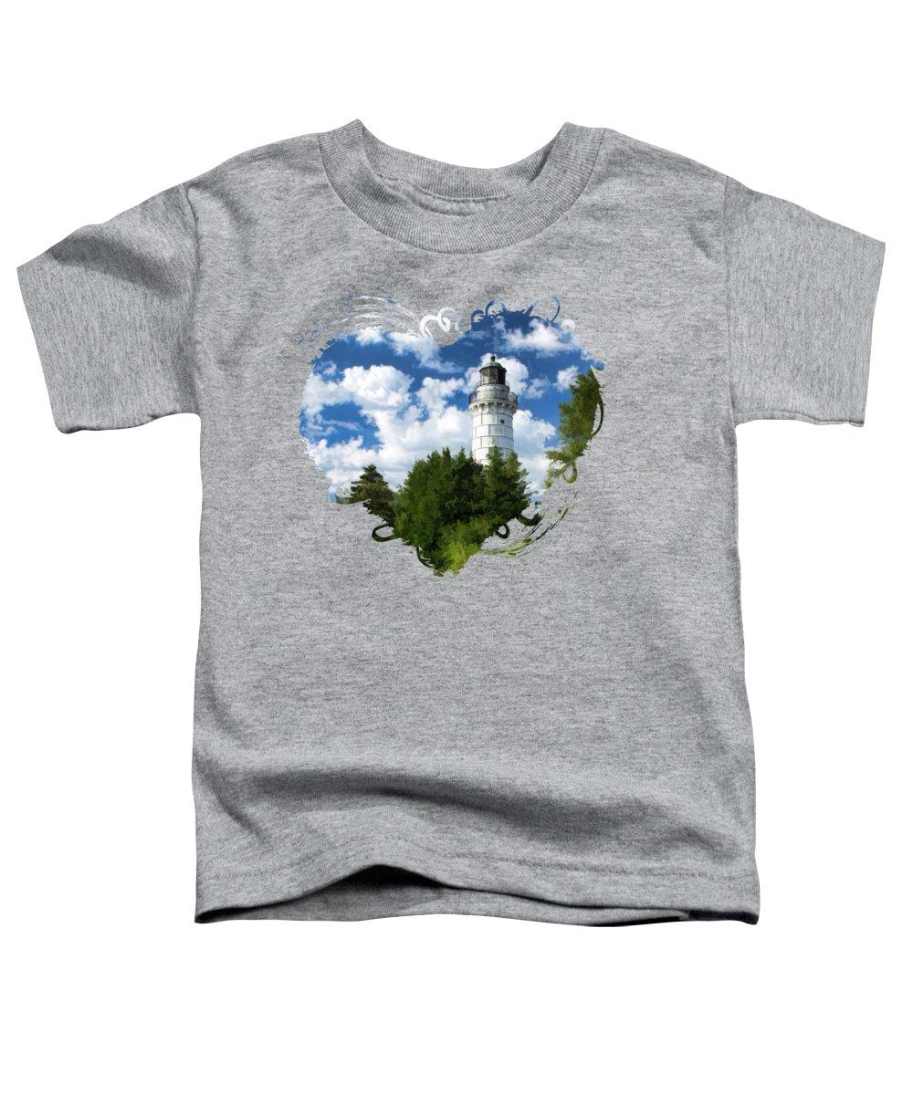 Lake Michigan Toddler T-Shirts