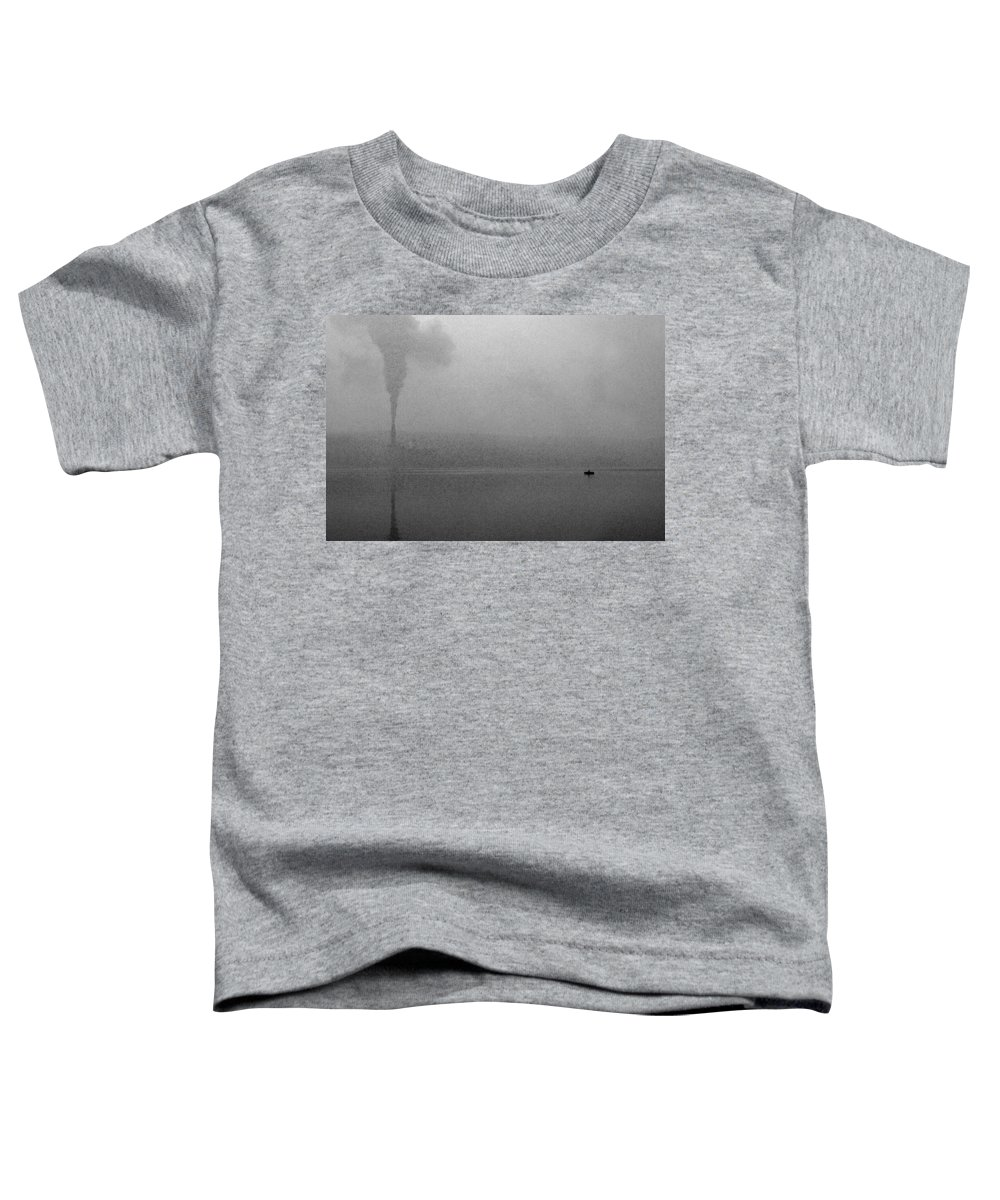 Solitude Toddler T-Shirt featuring the photograph Cayuga Solitude by Jean Macaluso
