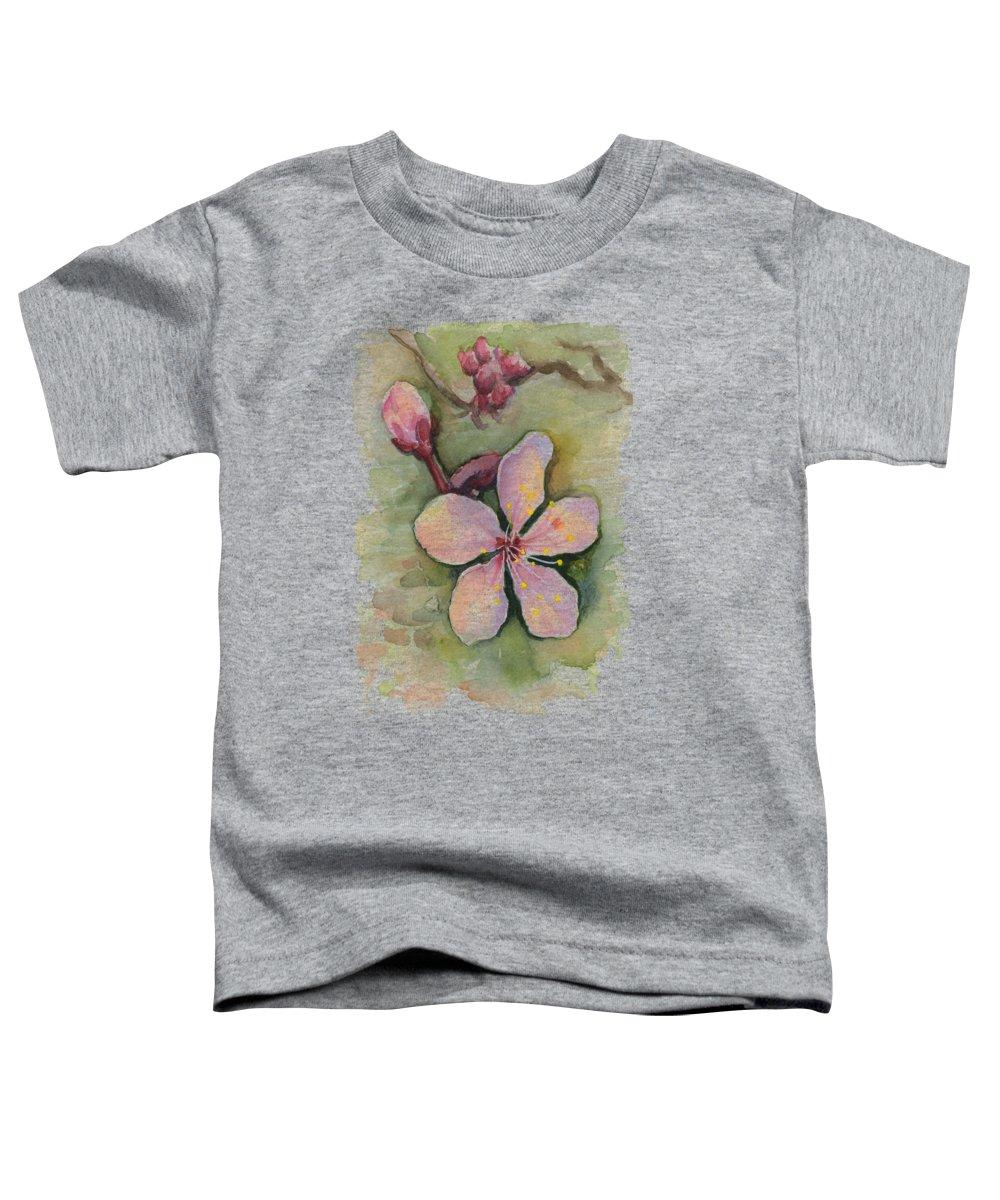 Pink Blossom Toddler T-Shirts