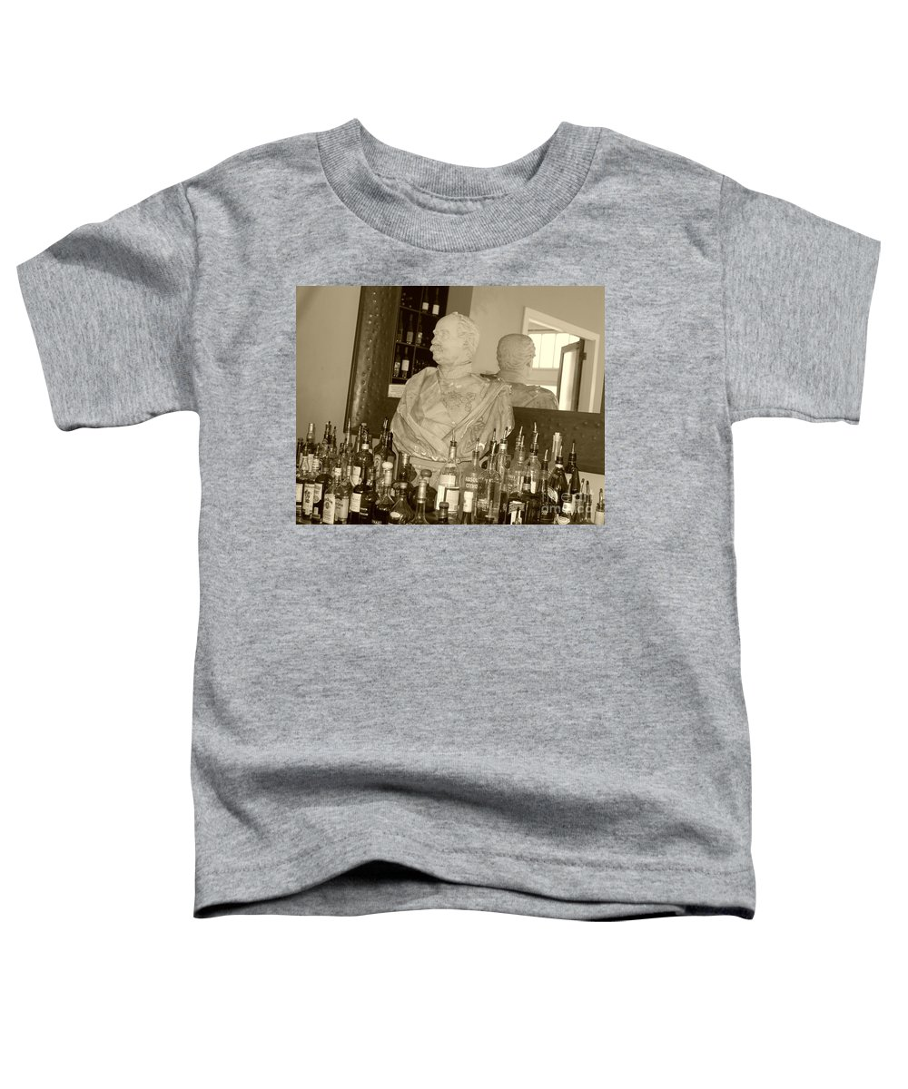 Bust Toddler T-Shirt featuring the photograph Chipped Reflection by Debbi Granruth
