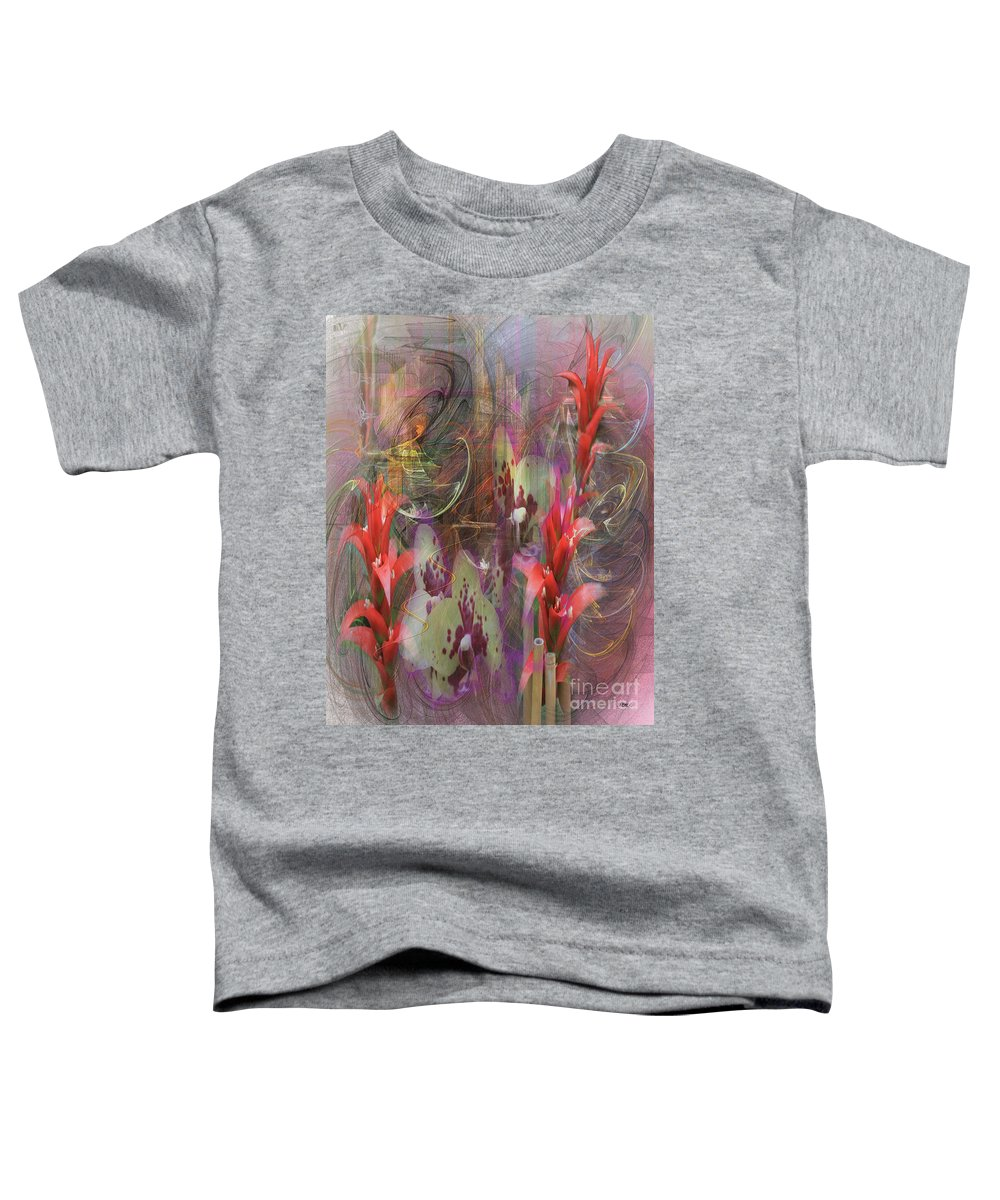 Chosen Ones Toddler T-Shirt featuring the digital art Chosen Ones by John Beck