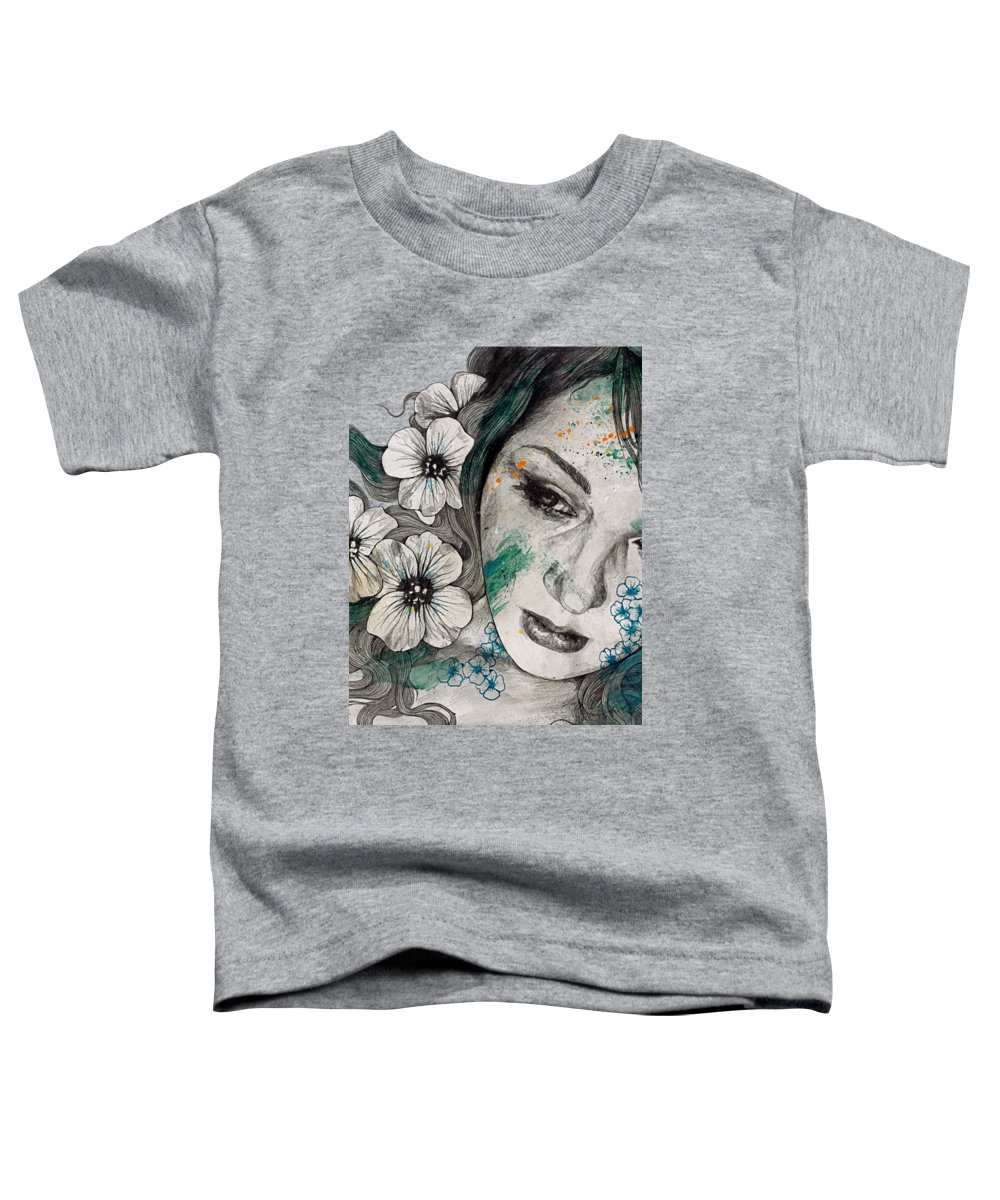Street Art Toddler T-Shirt featuring the drawing Cleopatra's Sling by Marco Paludet