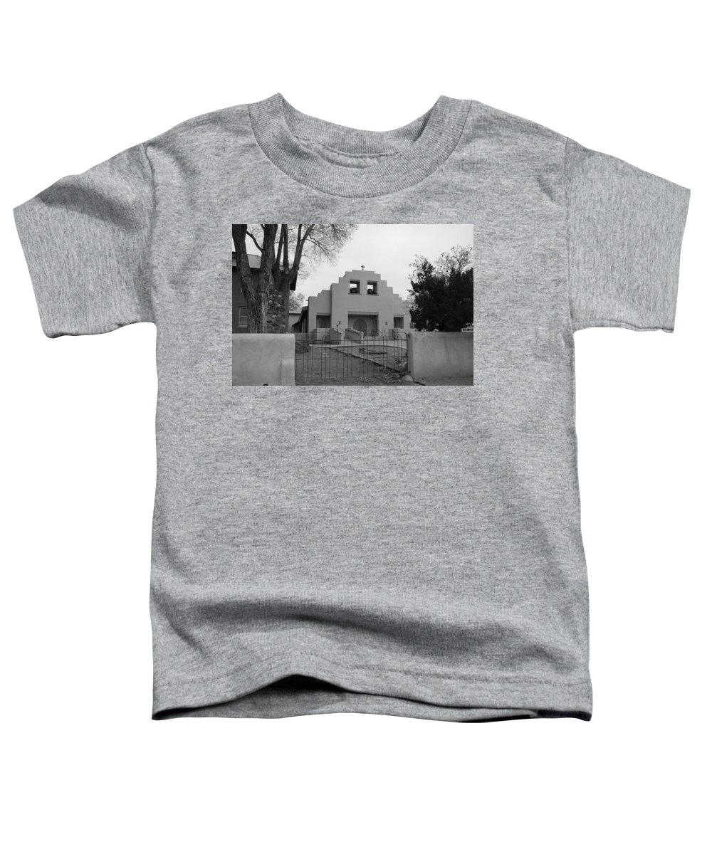 Architecture Toddler T-Shirt featuring the photograph Cochiti Church by Rob Hans