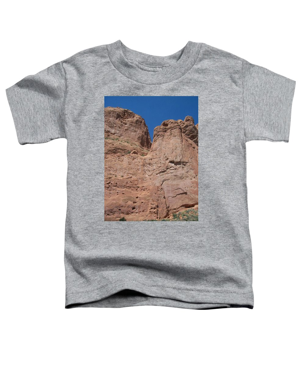 Colorado Toddler T-Shirt featuring the photograph Colorado Redrock by Anita Burgermeister