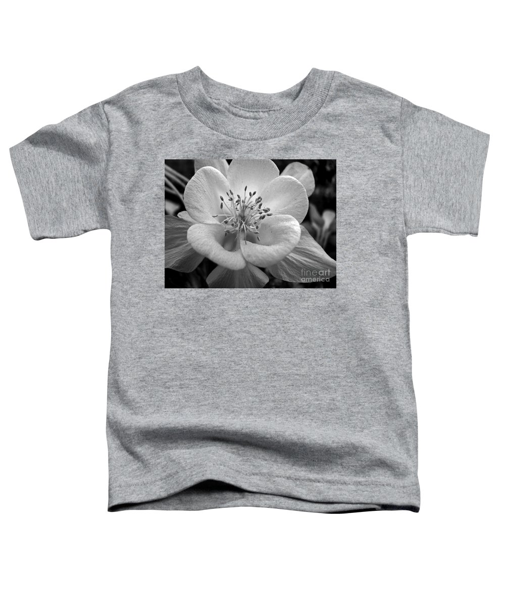 Flowers Toddler T-Shirt featuring the photograph Columbine by Amanda Barcon