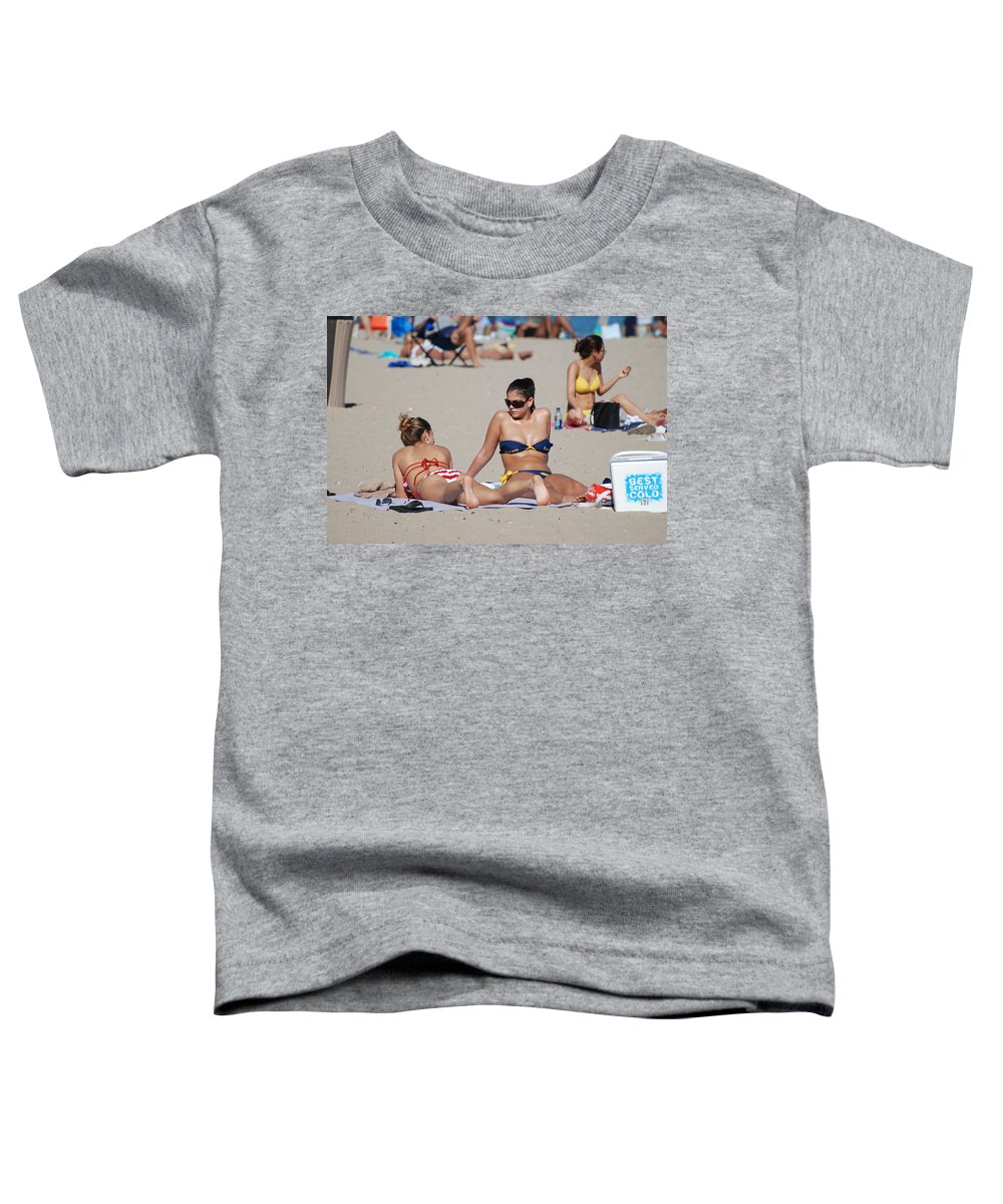 Girls Toddler T-Shirt featuring the photograph Corona Strips by Rob Hans