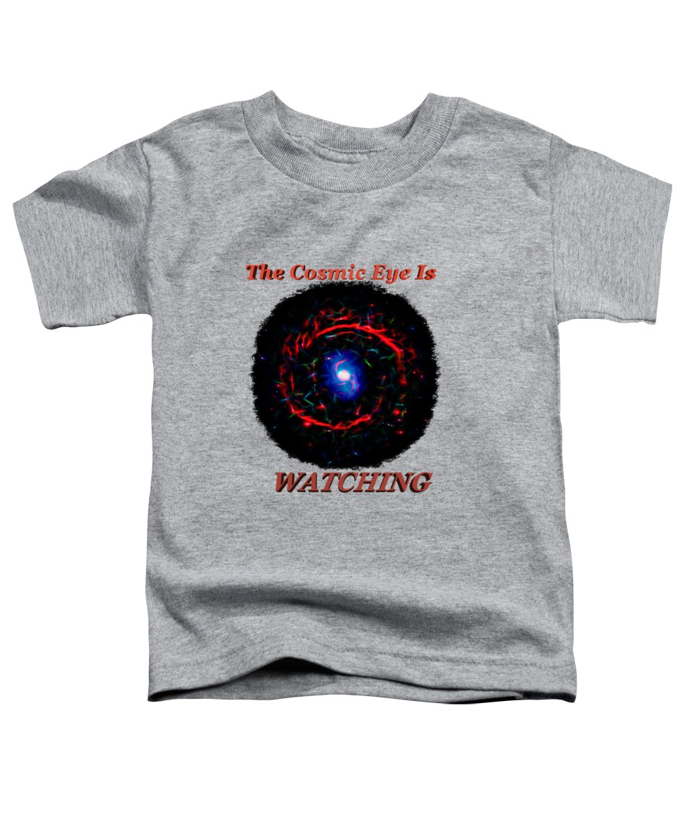Abstract Toddler T-Shirt featuring the photograph Cosmic Eye 2 by John M Bailey