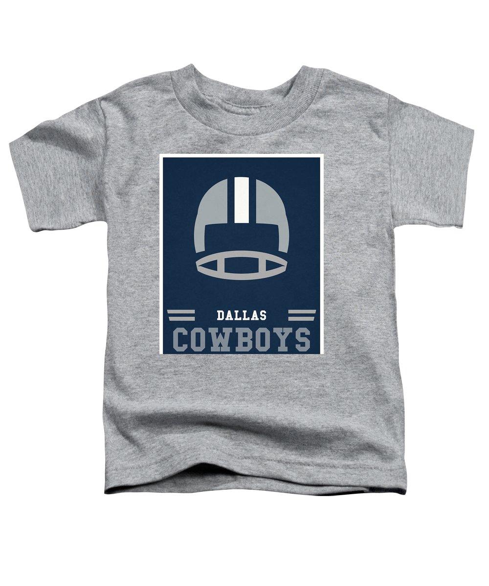 100% authentic 61fc7 c6ebe Dallas Cowboys Vintage Nfl Art Toddler T-Shirt