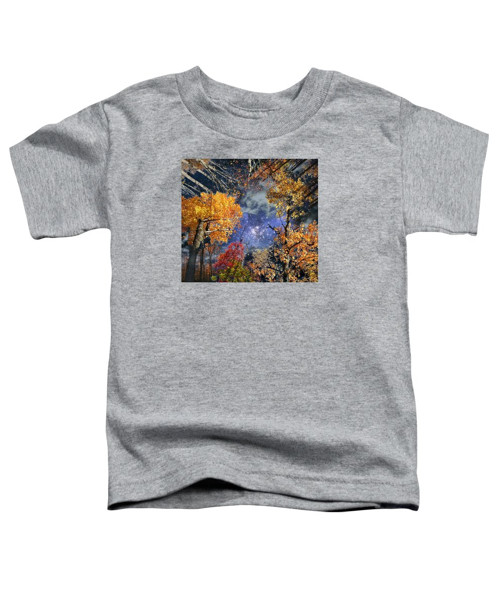 Deep Space Toddler T-Shirt featuring the photograph Deep Canopy by Dave Martsolf