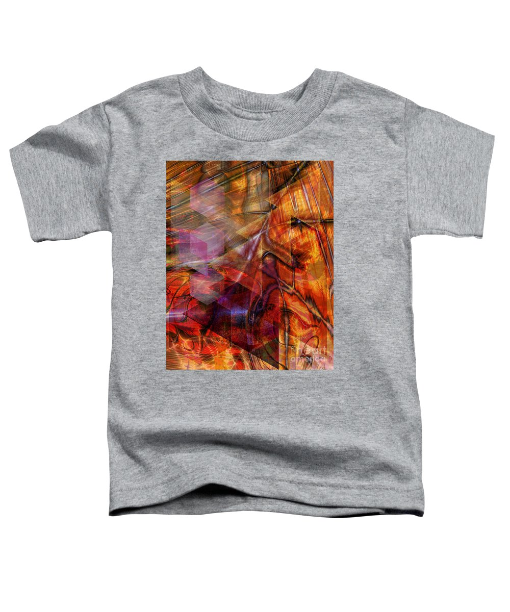 Deguello Sunrise Toddler T-Shirt featuring the digital art Deguello Sunrise by John Beck