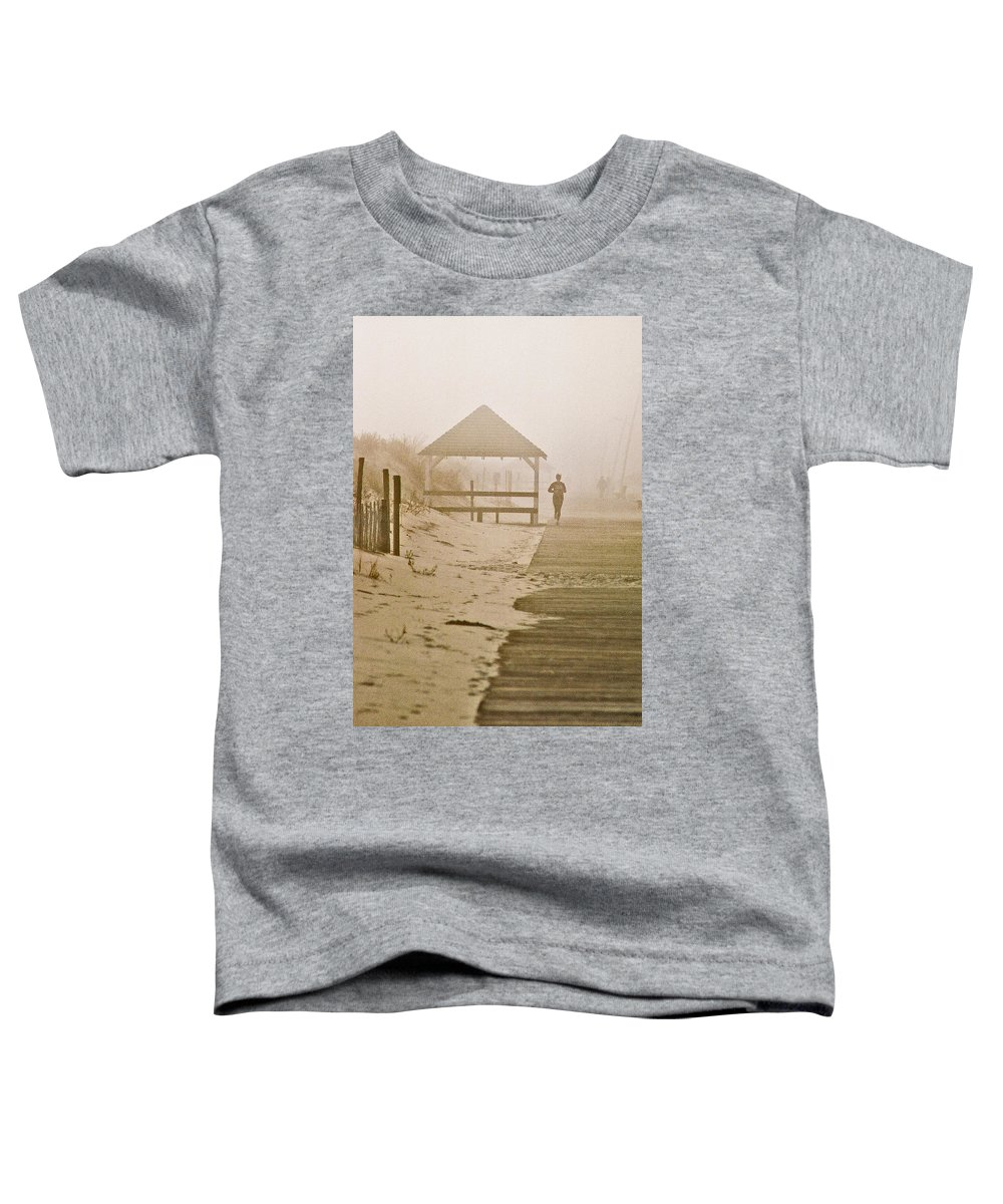 Landscape Toddler T-Shirt featuring the photograph Disappearance by Steve Karol