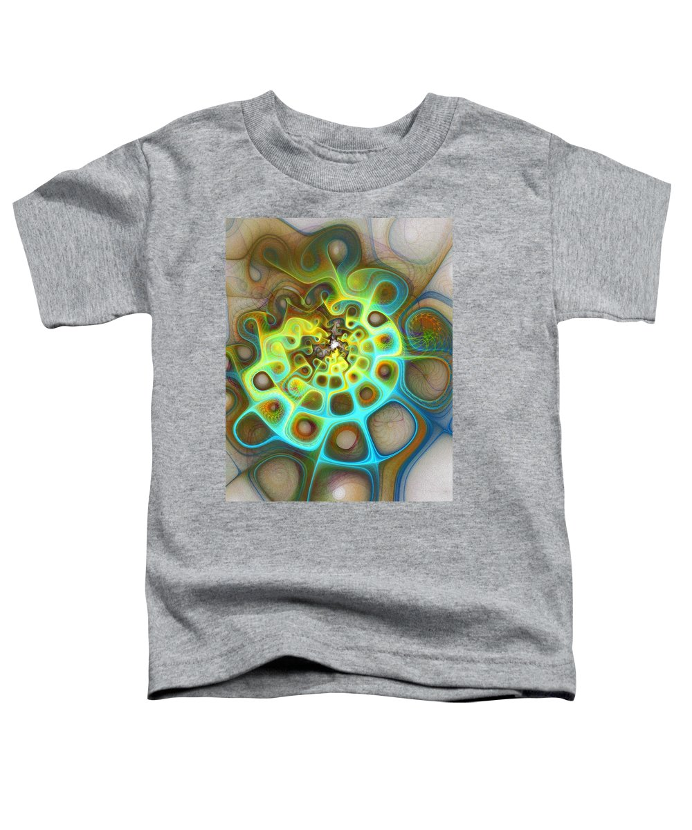 Digital Art Toddler T-Shirt featuring the digital art Dreamscapes by Amanda Moore