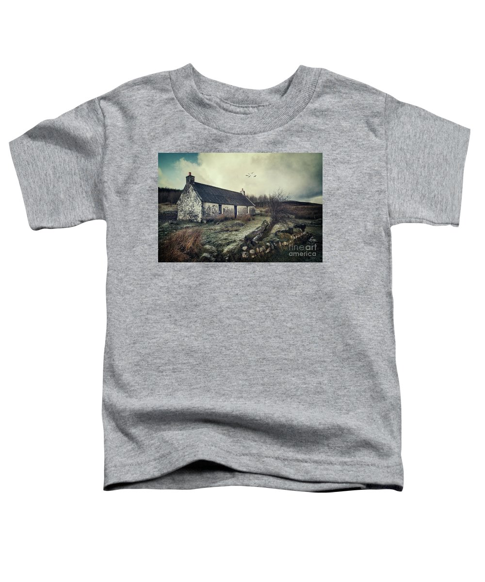 Kremsdorf Toddler T-Shirt featuring the photograph Dusty Morning by Evelina Kremsdorf