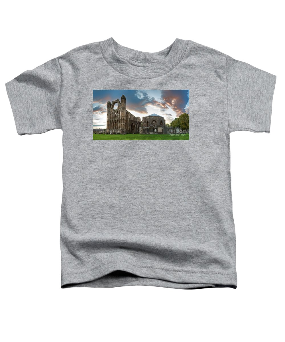 Elgin Toddler T-Shirt featuring the photograph Elgin Cathedral by Jane Rix